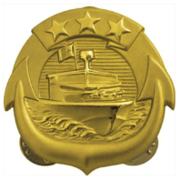 Vanguard NAVY BADGE: SMALL CRAFT OFFICER - REGULATION SIZE