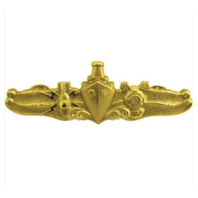 Vanguard NAVY BADGE: SPECIAL OPERATIONS OFFICER - REGULATION SIZE