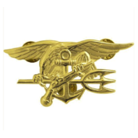 Vanguard NAVY BADGE: SPECIAL WARFARE - REGULATION SIZE