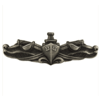 Vanguard NAVY BADGE: SURFACE WARFARE ENLISTED - REGULATION SIZE, OXIDIZED