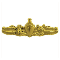 Vanguard NAVY BADGE: SPECIAL OPERATIONS OFFICER - MINIATURE, MIRROR FINISH