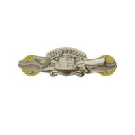Vanguard NAVY BADGE: EXPEDITIONARY WARFARE SPECIALIST - MINIATURE, MIRROR FINISH