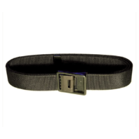 Vanguard NAVY BELT AND BUCKLE: BLACK NYLON SEABEE BLACK BUCKLE AND TIP - MALE XL