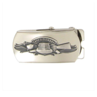 Vanguard Navy Expeditionary Warfare Specialist Belt Buckle- Mirrored