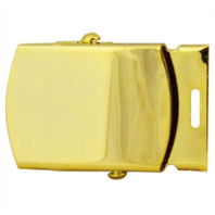 Vanguard ARMY BELT BUCKLE: GOLD BUCKLE AND TIP - FEMALE