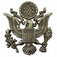 Vanguard AIR FORCE CAP DEVICE: HIGH RELIEF: OFFICER - MALE