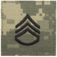 Vanguard ARMY EMBROIDERED ACU RANK INSIGNIA: STAFF SERGEANT