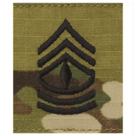 Vanguard ARMY GORTEX RANK: FIRST SERGEANT - OCP JACKET TAB