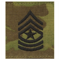Vanguard ARMY GORTEX RANK: SERGEANT MAJOR - OCP JACKET TAB