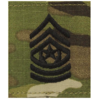 Vanguard ARMY GORTEX RANK: COMMAND SERGEANT MAJOR - OCP JACKET TAB