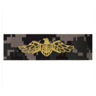 Vanguard NAVY EMBROIDERED BADGE: STRATEGIC SEALIFT - TYPE I BLUE DIGITAL