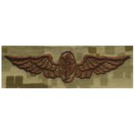 Vanguard NAVY EMBROIDERED BADGE: AVIATION PHYSIOLOGIST - DESERT DIGITAL