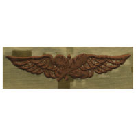 Vanguard NAVY EMBROIDERED BADGE: AVIATION SUPPLY - DESERT DIGITAL