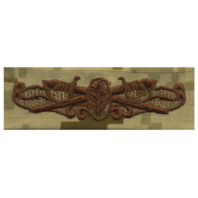 Vanguard NAVY EMBROIDERED BADGE: SURFACE WARFARE NURSE - DESERT DIGITAL