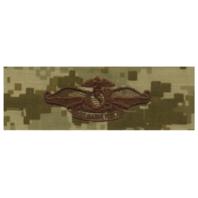 Vanguard NAVY EMBROIDERED BADGE: FLEET MARINE FORCE - DESERT DIGITAL