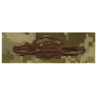 Vanguard NAVY EMBROIDERED BADGE: EXPEDITIONARY WARFARE - DESERT DIGITAL