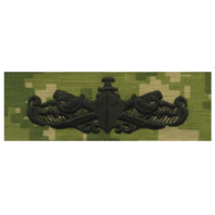 Vanguard NAVY EMBROIDERED BADGE: SURFACE WARFARE ENLISTED - WOODLAND DIGITAL