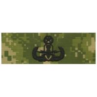 Vanguard NAVY EMBROIDERED BADGE: MASTER E.O.D. - WOODLAND DIGITAL