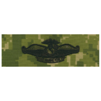 Vanguard NAVY EMBROIDERED BADGE: FLEET MARINE FORCE CHAPLAIN - WOODLAND DIGITAL