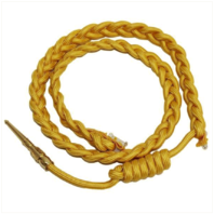 Vanguard ARMY SERVICE AIGUILLETTE: GOLD NYLON