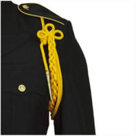 Vanguard ARMY SHOULDER CORD: 2720 GOLD RAYON WITH BRASS TIP