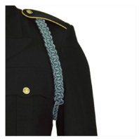 Vanguard ARMY SHOULDER CORD: 2723 INTERWOVEN ONE COLOR INFANTRY BLUE