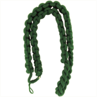 Vanguard ARMY SHOULDER CORD: 2723 INTERWOVEN ONE COLOR KELLY GREEN
