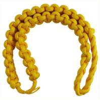 Vanguard ARMY SHOULDER CORD: 2723 INTERWOVEN ONE COLOR LITE GOLD - CAVALRY ARMOR