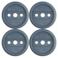 Vanguard ARMY COLLAR DISC: INFANTRY BLUE - PLASTIC