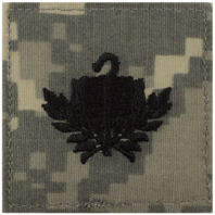 Vanguard ARMY OFFICER BRANCH INSIGNIA: CHAPLAIN CANDIDATE - EMBROIDERED ON ACU WITH HOOK