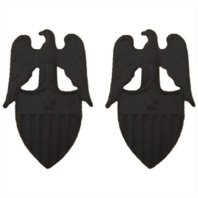 Vanguard ARMY AIDES INSIGNIA: AIDE TO BRIGADIER GENERAL - BLACK METAL
