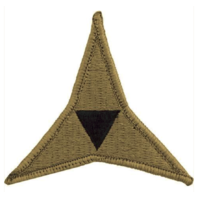 Vanguard ARMY PATCH: 3RD CORPS - EMBROIDERED ON OCP