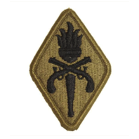 Vanguard ARMY PATCH: MILITARY POLICE SCHOOL - EMBROIDERED ON OCP
