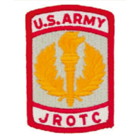 Vanguard ARMY JROTC PATCH: U.S. ARMY JROTC FULL COLOR