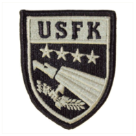 Vanguard ARMY PATCH: U.S. FORCES KOREA - EMBROIDERED ON ACU