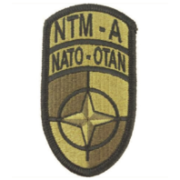 Vanguard ARMY PATCH: NATO TRAINING MISSION AFGHANISTAN - EMBROIDERED ON OCP