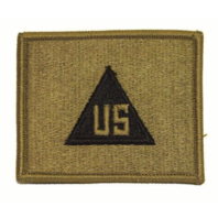 Vanguard ARMY PATCH: U.S. CIVILIAN IN THE FIELD - EMBROIDERED ON OCP