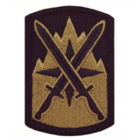 Vanguard ARMY PATCH: 10TH SUSTAINMENT BRIGADE - EMBROIDERED ON OCP