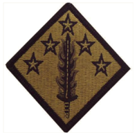 Vanguard ARMY PATCH: 20TH CBRNE - EMBROIDERED ON OCP