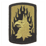 Vanguard ARMY PATCH: 12TH AVIATION BRIGADE - EMBROIDERED ON OCP