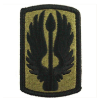 Vanguard ARMY PATCH: 18TH AVIATION BRIGADE - EMBROIDERED ON OCP