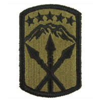 Vanguard ARMY PATCH: 593RD SUSTAINMENT BRIGADE - EMBROIDERED ON OCP