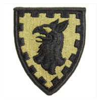 Vanguard ARMY PATCH: 15TH MILITARY POLICE BRIGADE - EMBROIDERED ON OCP