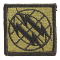 Vanguard ARMY PATCH: 2ND SIGNAL BRIGADE - EMBROIDERED ON OCP