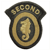 Vanguard ARMY PATCH: 2ND ENGINEER BRIGADE - EMBROIDERED ON OCP