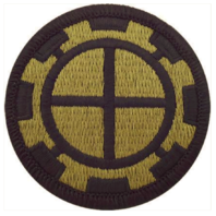 Vanguard ARMY PATCH: 35TH ENGINEER BRIGADE - EMBROIDERED ON OCP