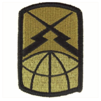 Vanguard ARMY PATCH: 160TH SIGNAL BRIGADE - EMBROIDERED ON OCP