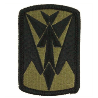 Vanguard ARMY PATCH: 35TH AIR DEFENSE ARTILLERY - EMBROIDERED ON OCP