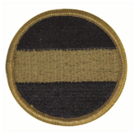 Vanguard ARMY PATCH: ARMY FORCES COMMAND: FORSCOM - EMBROIDERED ON OCP
