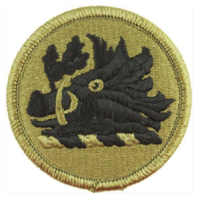 Vanguard ARMY PATCH: GEORGIA NATIONAL GUARD - EMBROIDERED ON OCP